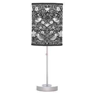 Luminária Pássaro de Nouveau da arte & tapeçaria da flor,