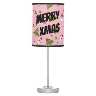 Luminária Personalize o papai noel e a árvore de Natal
