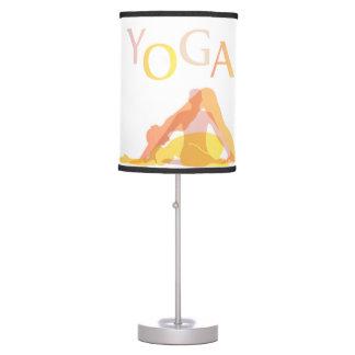 Luminária Poses da ioga