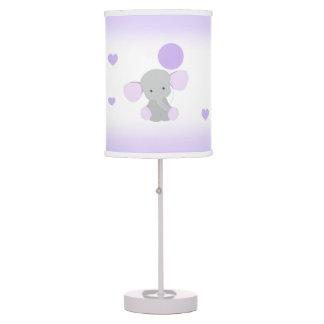 Luminária Safari cinzento roxo do bebé do berçário do