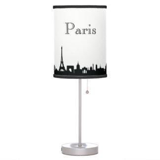 Luminária Silhueta da skyline de Paris