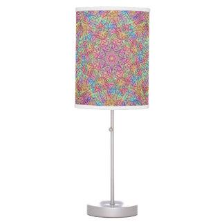 Luminária Techno colore candeeiros de mesa    do