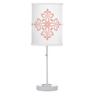 Luminária Teste padrão doce do azulejo do Flourish do rosa e