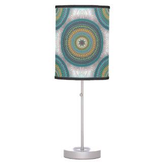 Luminária Teste padrão floral étnico abstrato colorido da