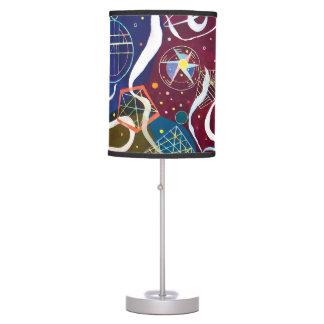 Luminária Wassily Kandinsky - arte abstracta do movimento um