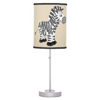 Luminária Zebra bonito do bebê do miúdo
