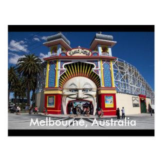 Luna Park cartão de Melbourne, Austrália