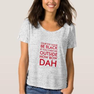 lunáticos engraçados descontam-me design do tshirt camiseta