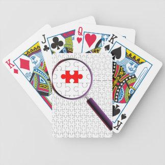 Lupa impar da parte jogos de baralho