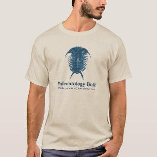 Lustre da paleontologia camiseta