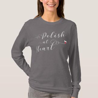 Lustre na camiseta do coração, Polônia