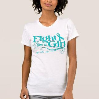 Luta de PKD como uma menina elegante Tshirts