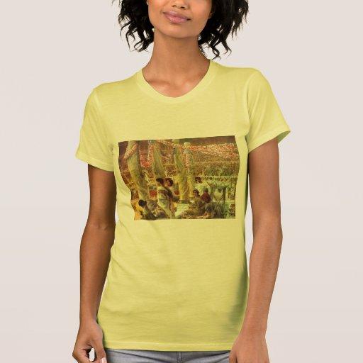 Luta do urso de Lawrence Tadema-A no coliseu Camiseta
