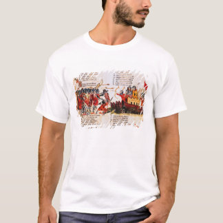 Luta dos cavaleiros camiseta