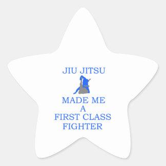 lutador brasileiro do jitsu do jiu adesito estrela