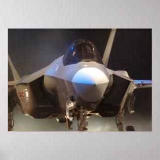 Lutador da greve da junção F-35 Pôster