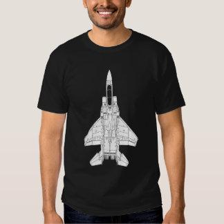 Lutador de jato de F-15 Eagle Tshirts