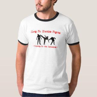 Lutador do zombi de Kung Fu T-shirts