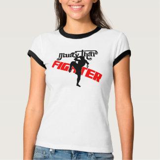 Lutador tailandês de Muay T-shirt