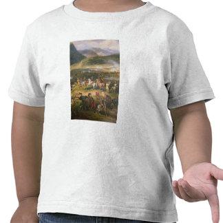 Lute a montagem Thabor, o detalhe Napoleon e o seu Camisetas