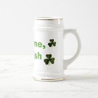 Lute-me, mim são irlandês caneca de cerveja