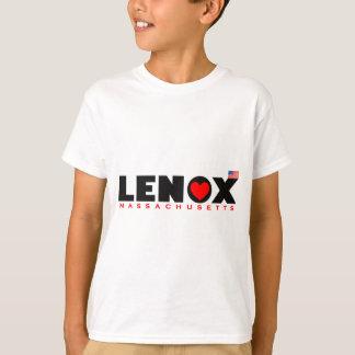 Luv Lenox com bandeira Camiseta