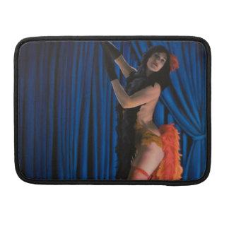 Luva Burlesque de Macbook do dançarino Bolsas MacBook Pro