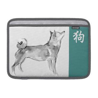 Luva chinesa 1 do zodíaco do símbolo do ano novo bolsas de MacBook air