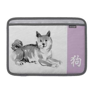Luva chinesa 2 do zodíaco do símbolo do ano novo bolsa de MacBook