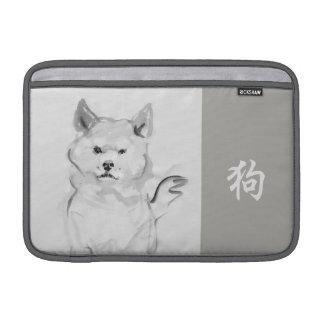 Luva chinesa 4 do zodíaco do símbolo do ano novo bolsas de MacBook