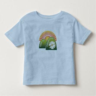 Luva curta da Criança-Campainha Camiseta