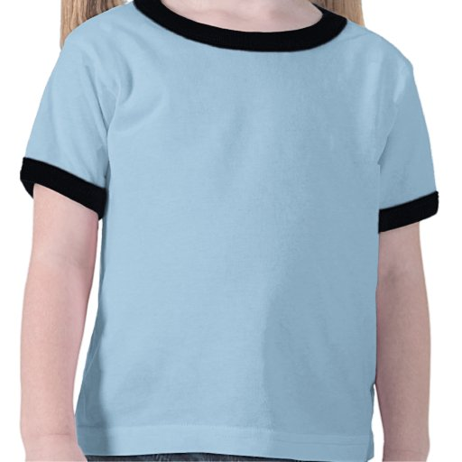 Luva curta da Criança-Campainha Tshirt