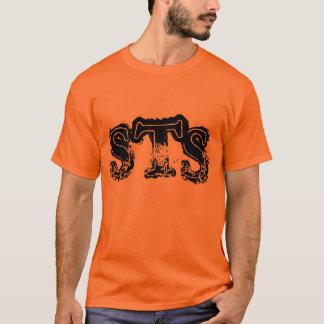 Luva curta do STS dos homens corajosa Camiseta