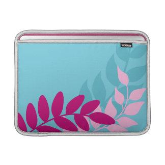 Luva de ar azul e cor-de-rosa de Macbook das Bolsas De MacBook Air
