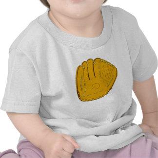 Luva de basebol camisetas