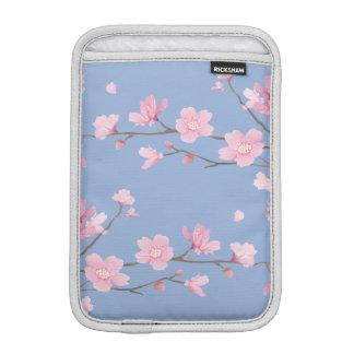 Luva De iPad Mini Flor de cerejeira - azul da serenidade