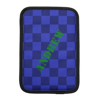 Luva De iPad Mini HAMbWG - caixa do computador - verificador azul