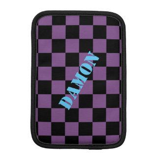 Luva De iPad Mini HAMbWG - caixa do computador - verificador preto
