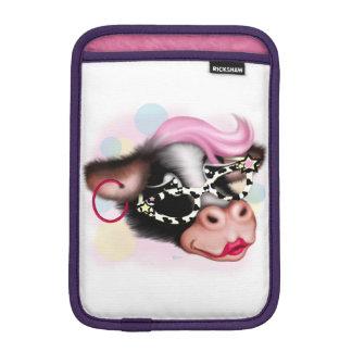 Luva De iPad Mini iPad dos DESENHOS ANIMADOS da VACA da CARA do MOO