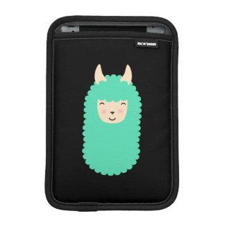 Luva De iPad Mini Luva feliz dos eletrônicos de Emoji do lama