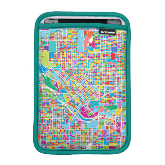 Luva De iPad Mini Mapa colorido de Denver