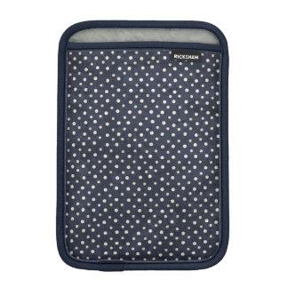 Luva De iPad Mini Mini luva do iPad azul e branco das bolinhas