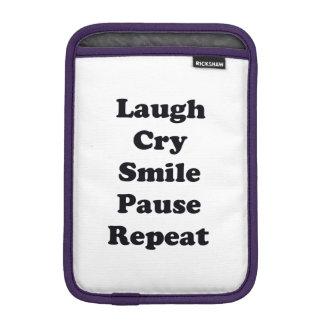 Luva De iPad Mini Repetição do riso