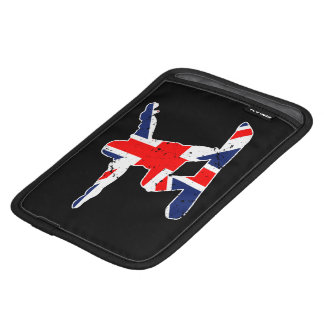 Luva De iPad Mini SNOWBOARDER de Union Jack (branco)