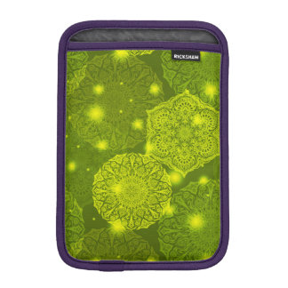 Luva De iPad Mini Teste padrão luxuoso floral da mandala