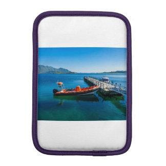 Luva De iPad Mini Veado da aterragem e barco da velocidade