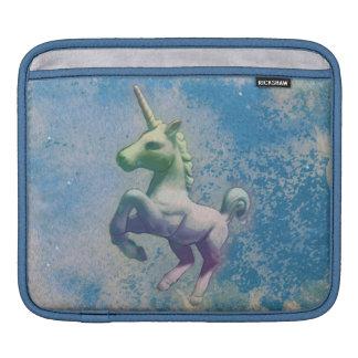 Luva do iPad do unicórnio (ártico azul) Bolsas Para iPad