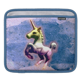 Luva do iPad do unicórnio (azul queimado) Bolsa Para iPad