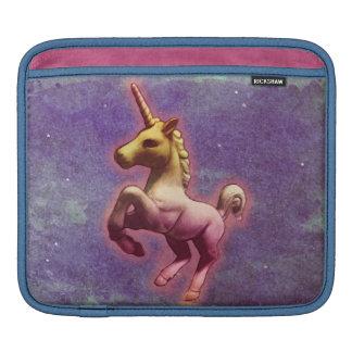 Luva do iPad do unicórnio (névoa roxa) Bolsa Para iPad