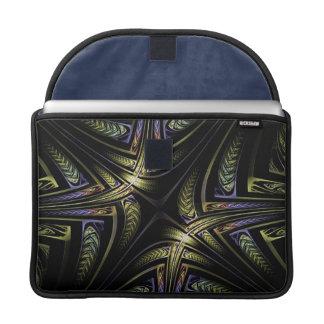 Luva dourada de MacBook Pro do céltico do Fractal Bolsas MacBook Pro